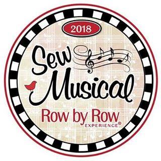 2018 row by row - sew musical