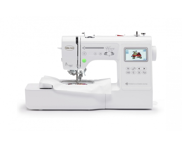Baby Lock Verve Embroidery Sewing Machine w/Online Classes